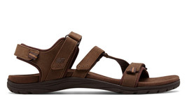 New Balance Women's Maya Leather Sandal New Authentic Brown WR2100BR - $59.99