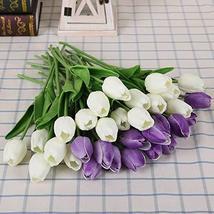 KPST Flowers - 31pcs/lot Tulip Artificial Flowers Wedding Decor Simulati... - $49.99