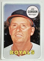 *READ!* 1969 Topps #484 Joe Gordon HOF Baseball Card Genuine Original Authentic! - $2.55