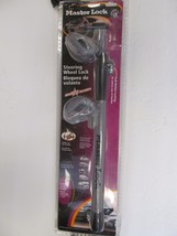 master lock steering wheel lock 252dat new - $18.99