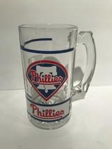 Philadelphia Phillies Baseball Glass Mug 12oz - $10.40