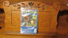 FULL SIZE WOOD Craft Pattern for Bird Feeder THE WINFIELD COLLECTION - $6.95