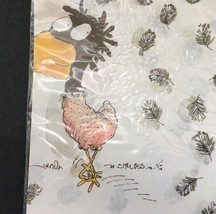 Bird Buzzard PLAZA Vintage West Germany Wrapping Paper 4 Pkgs 8 Sheets i... - $20.11