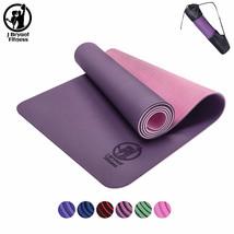6mm Yoga Mat With Strap Bag Carrier Tote Shoulder Pocket Gym Adjustable ... - $915,11 MXN+