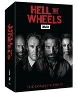 Hell On Wheels The Complete Series Seasons 1 2 3 4 5 DVD Box 17-Disc Set... - $45.00