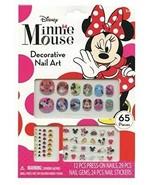 Disney Minnie Mouse Bowtique 65 Piece Decorative Nail Art Kit (NEW) - $6.65
