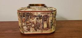 Vintage Anton Pieck Wooden Box Purse - $79.99