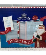 Hallmark Northpole Magic Mail Write Letters to Santa Elves Get Answer Fr... - $7.95