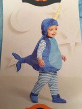 Baby Narwhal Plush Vest Costume Hyde and Eek!Size 0-6 Months New - $13.32