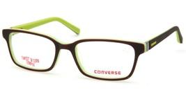 NEW CONVERSE K020 BROWN EYEGLASSES GLASSES FRAME 48-16-130mm B30mm - $44.09