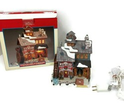 Lemax Harvest Crossing Sawyer's Saw Mill Lighted Porcelain House - $49.49
