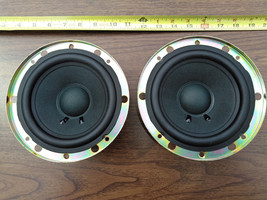 "8KK19 Pair Of Speakers From Projection Tv: Panasonic J14PL10A3, 6 Ohm, 5"", Vgc - $19.68"