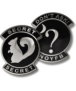 USAF Don't Ask Secret Squirrel Challenge Coin - $14.99