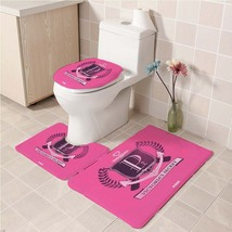 Hot Victoria's_Secret151 Toilet Set Anti Slip Good For Decoration Your B... - £16.61 GBP
