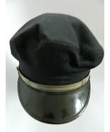 Vintage Fireman's Detroit Fire Dept. DFD 100% Wool Visor Hat Sz 7 1\8 Un... - $65.00