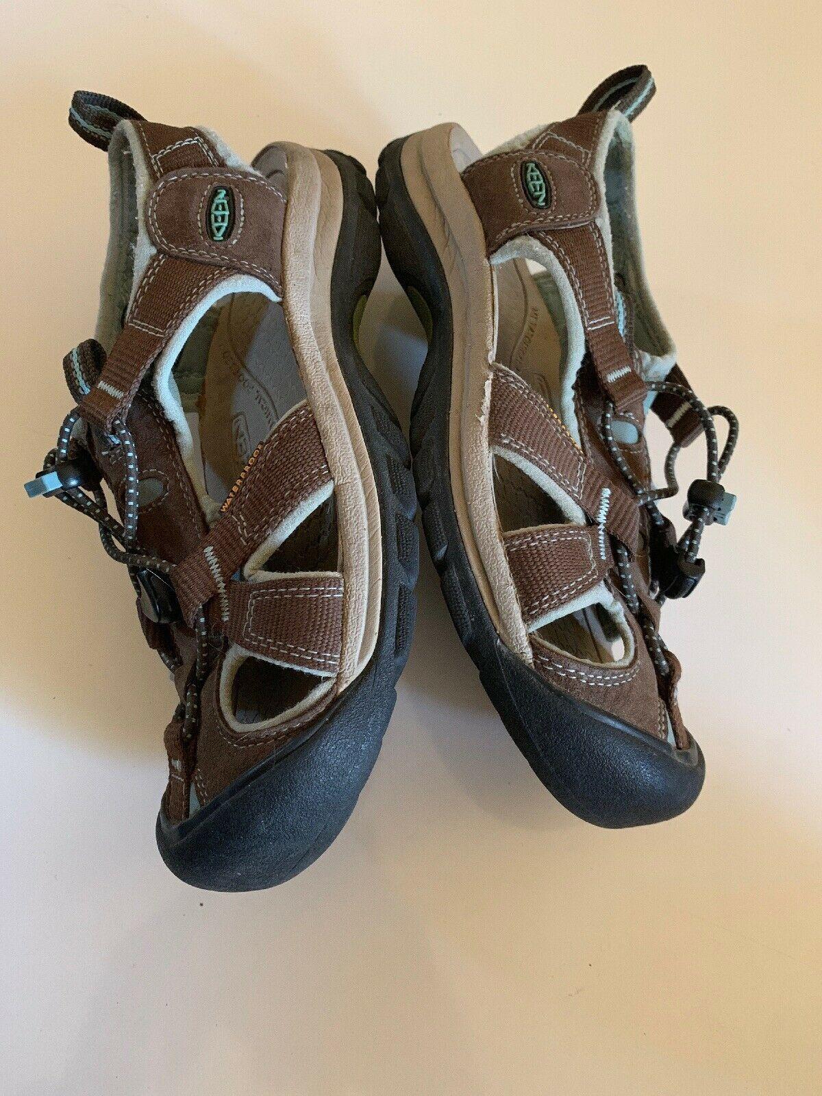 Women's Keen Sport Sandals Size 7 Water Shoes 1008020 Waterproof brown image 5
