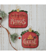 12 Days: Rings Geese cross stitch chart Hands O... - $9.00