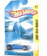 Blue FORD GTX1 Hot Wheels 2007 New Models Series Ford GTX11:64 Scale Col... - $16.65