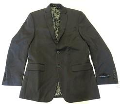NWT Van Heusen Studio Grey Two Button Blazer/Suit Jacket Men's Size 38 R... - $148.45