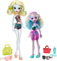 Monster High Lagoona Blue and Family Dolls  - $34.54