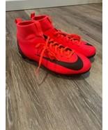 Nike JR CR7 Superfly 6 Club Hybrid AJ3115 600 Bright Crimson/Black/Chrom... - $50.15