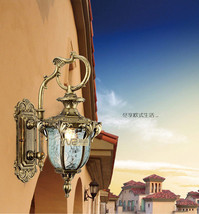 European Outdoors Waterproof Sconce Anti-rust Wall Lamp E27 Light Lighti... - $95.98+
