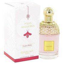 Aqua Allegoria Flora Rosa by Guerlain Eau De Toilette Spray 3.3 oz -100%... - $57.90
