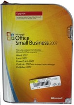 MICROSOFT OFFICE Small Business Edition 2007 UPGRADE w/ Key # SBE Word E... - $37.39