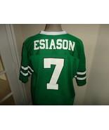 Vtg 90's Logo 7 #7 Boomer Esiason New York Jets Screen NFL Football Jers... - $44.54