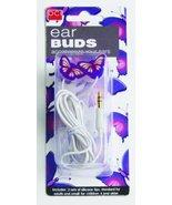 DCI Earbuds, Butterfly Headphone Earbuds - Purple - $29.65