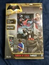 Batman vs Superman Dawn of Justice throw and stick target franklin sports - $11.88