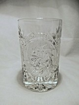 set 4 vintage Fostoria STOWE Clear Hiball Glasses pinwheel pattern New O... - $19.99