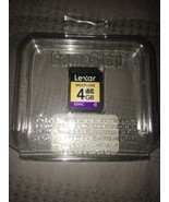 Lexar 4GB Multi-Use Secure Digital SDHC Memory Card - $8.81