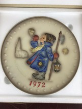 """Vintage Hummel 1972 Annual Plate 2nd In Collection """"Hear Ye Hear Ye"""" - $11.30"""