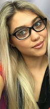 New FENDI  53mm Black Rx Women's Eyeglasses Frames Italy  - $149.99