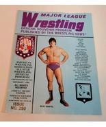 Major League Wrestling Program #290 Ricky martel hulk Hogan Ventura Sant... - $15.00