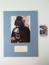 David Prowse Darth Vader Signed Autographed Index Card Matted 12x16 w/ 8... - $158.36