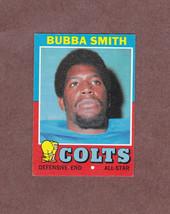 1971 Topps # 33 Bubba Smith Baltimore Colts Nice Card - $3.49