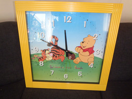 Extremely Rare! Walt Disney Giant Winnie the Pooh Wall Clock from E.H.Sh... - $153.00