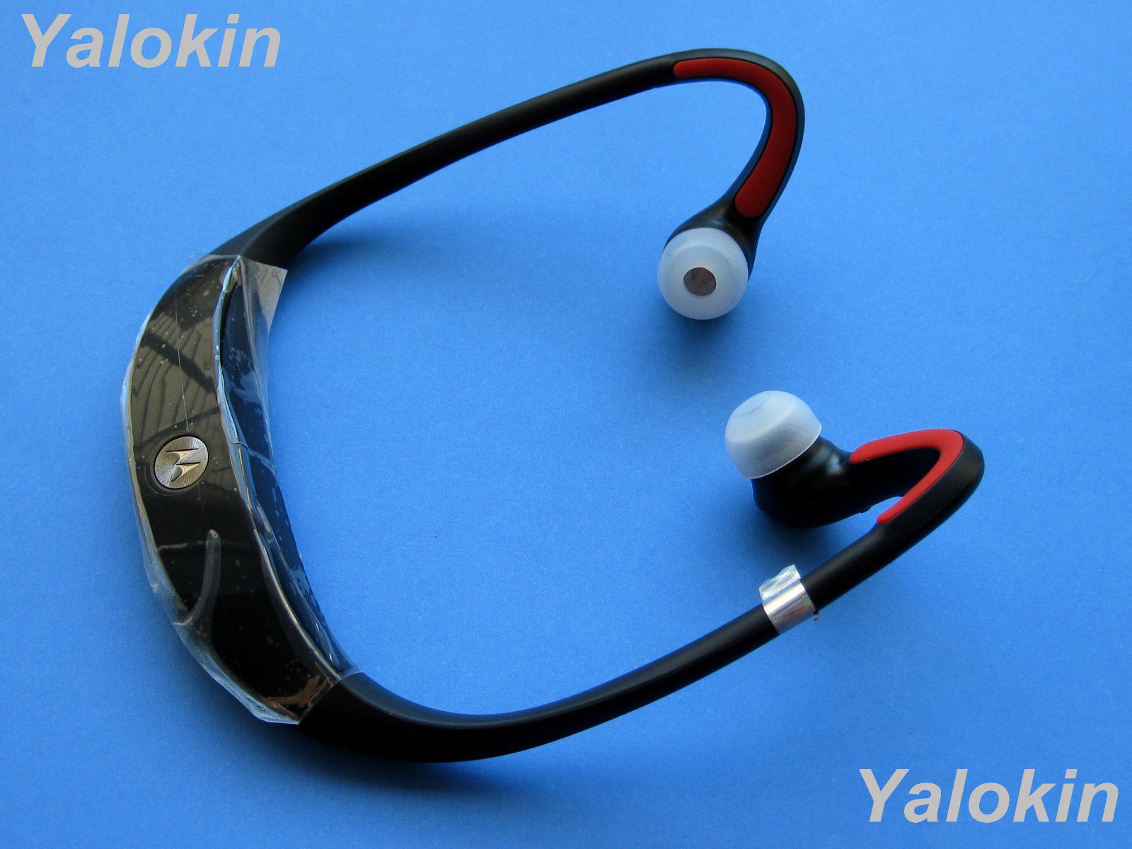 8 CL Large Replacement Ear-tips for Motorola S10-HD Bluetooth Headphones