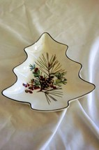 "Lenox 2006 Etchings Tree Shaped Candy Dish 7 1/2"" - $12.59"