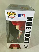 MIKE TROUT / AUTOGRAPHED L. A. ANGELS LOGO MLB FUNKO POP VINYL FIGURINE / COA image 3