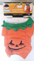 "Halloween Pumpkin Dog Costume Size Medium 14""-15"" - $12.86"