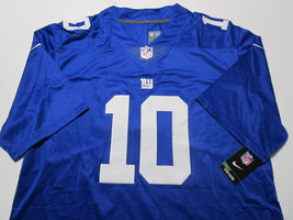 ELI MANNING / AUTOGRAPHED NEW YORK GIANTS BLUE PRO STYLE FOOTBALL JERSEY / COA image 2