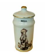 Hummel Goebel Spice jar canister Germany Original figurine Dill Pickle west vtg - $28.98