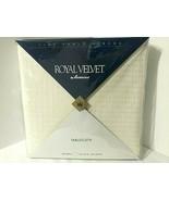 NEW Ivory Tablecloth 60 x 102 Rectangle Royal Velvet Permanent Press Soi... - $38.56