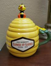 Disney World Epcot Flower & Garden Festival Spike the Bee Mug, Honey - $34.60
