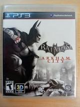 Batman: Arkham City (Sony PlayStation 3, 2011) ps3 complete - $4.94