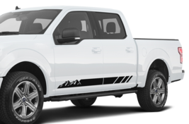 Stripe for Ford F150 Decal Sport Mountains Sticker Side Door Graphics De... - $45.78