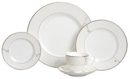 Waterford Fine China Lisette 5 Piece Place Sett... - $100.98